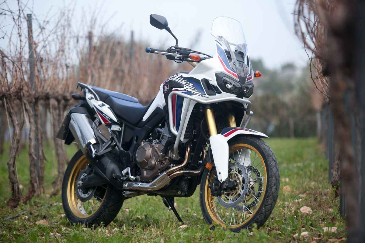honda africa twin press launching event
