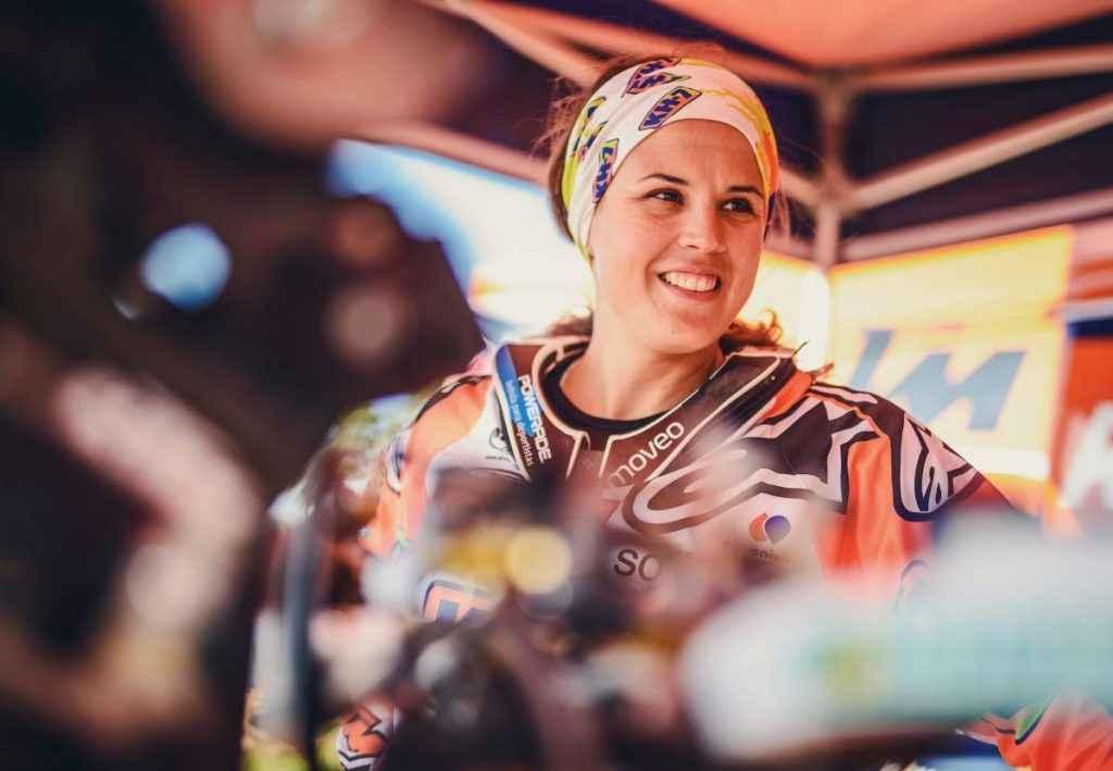 Laia Sanz KTM 450 RALLY 2016