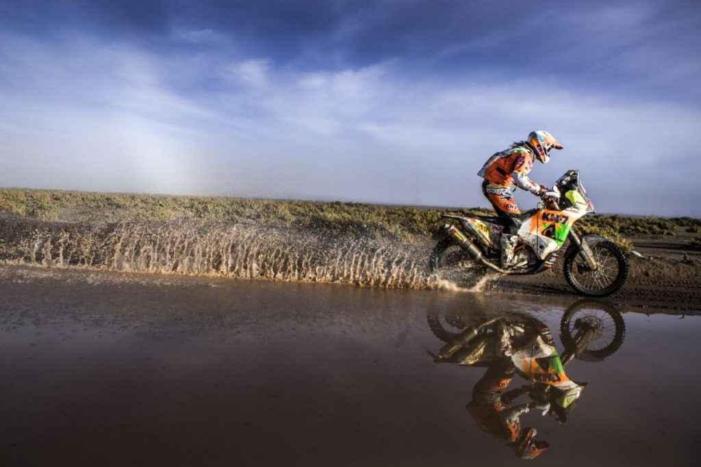Laia Sanz KTM 450 RALLY Dakar 2017